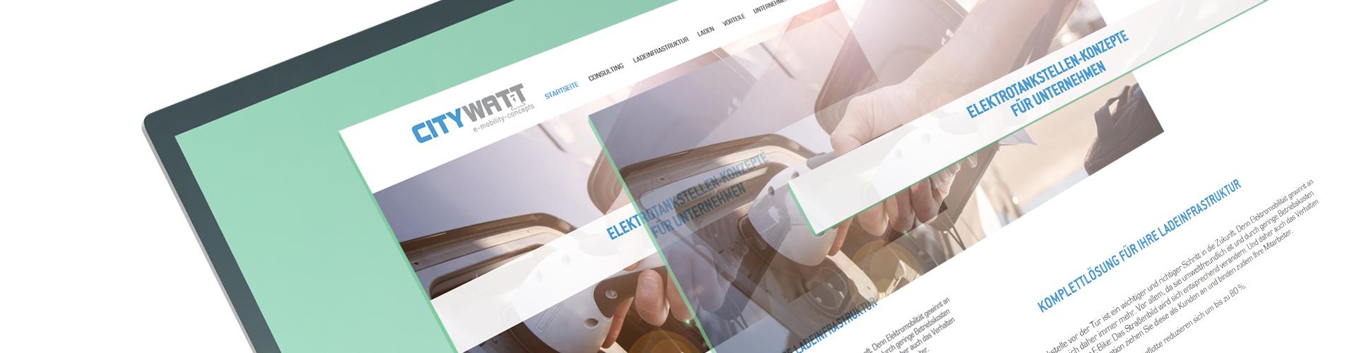 CITYWATT GmbH I Webseite I Online