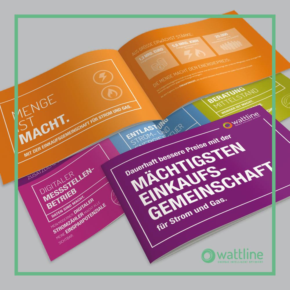 wattline GmbH I Referenz I Imagebroschuere
